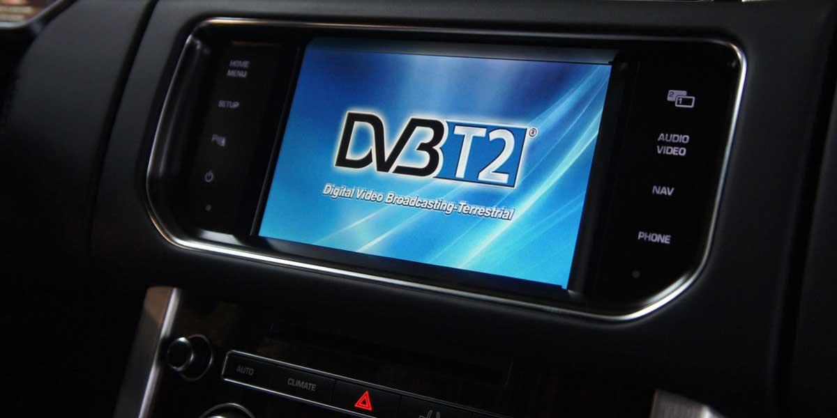 Цифровое телевидение DVB-T2 в Range Rover Sport