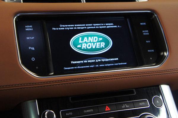 Установка видеоинтерфейса и навигации Navitel Land Rover Range Rover Sport new