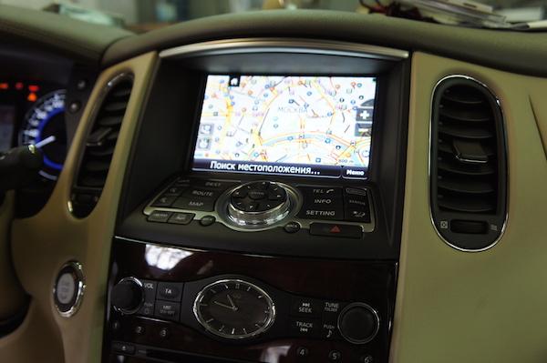Навигационная система для автомобилей Nissan-Infiniti