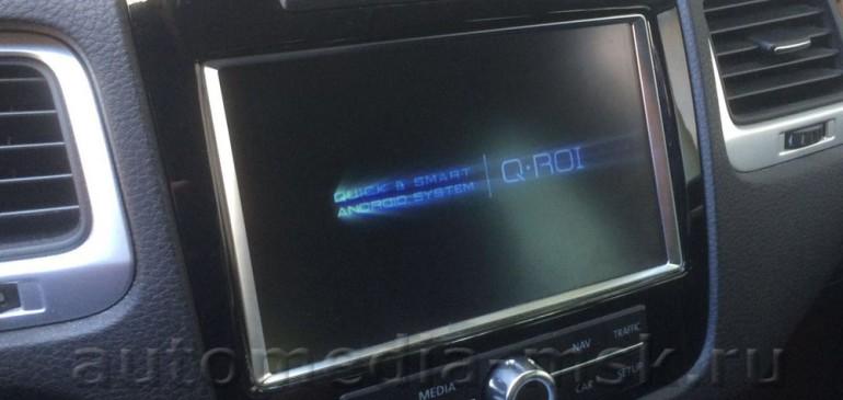 Навигационный блок QROI для VW Touareg