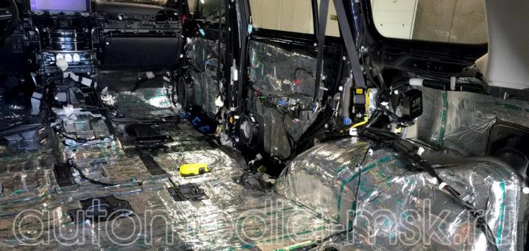 Шумоизоляция Lexus LX 450d