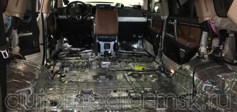Шумоизоляция Toyota Land Cruiser 200