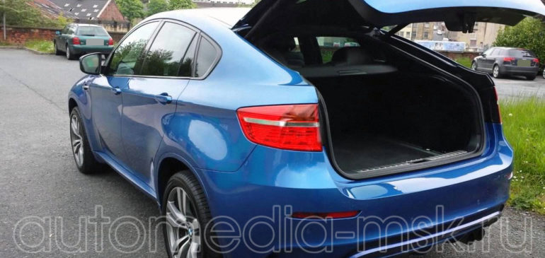Установка электропривода пятой двери на BMW X6