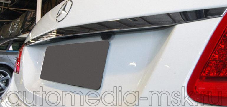 Установка парковочной камеры на Mercedes E-Class