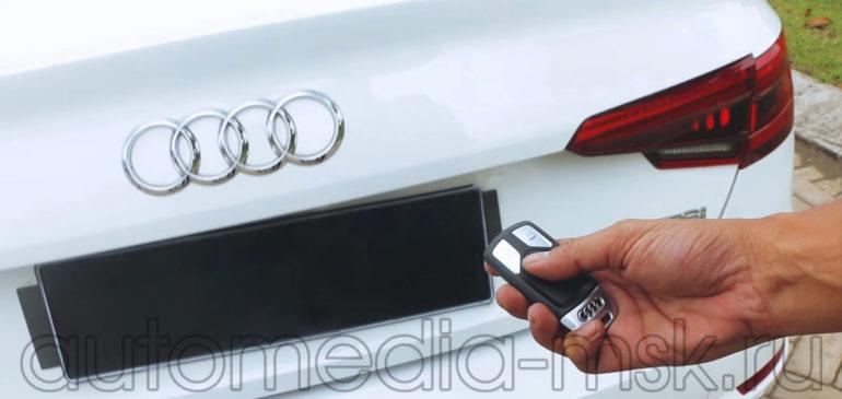 Установка электропривода пятой двери на Audi A4