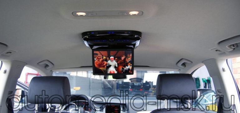 Установка дополнительных мониторов в Audi A4