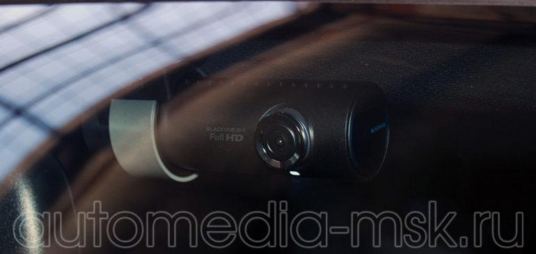 Скрытая установка видеорегистратора на Audi A8