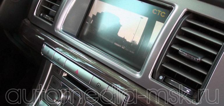 Установка ТВ-тюнера на Jaguar XE