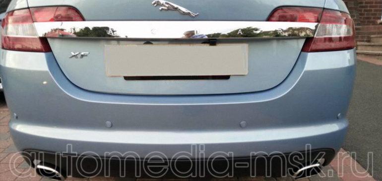 Установка парковочной камеры на Jaguar XF