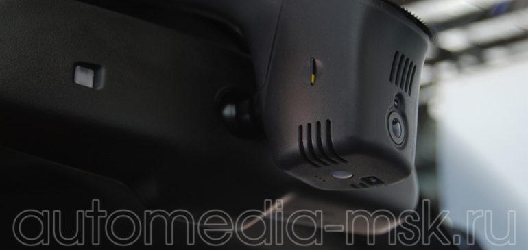 Скрытая установка видеорегистратора на Audi A5