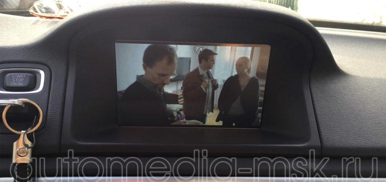 Установка ТВ-тюнера на Volvo XC70