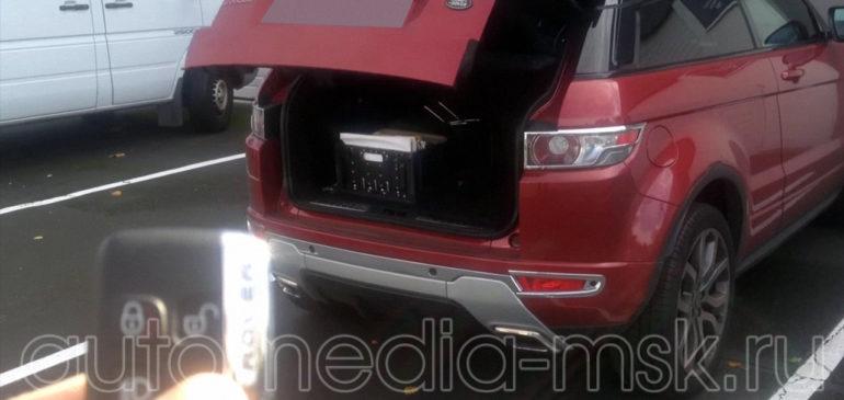 Установка электропривода пятой двери на Range rover Evoque