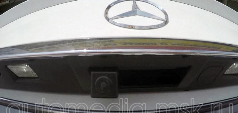 Установка парковочной камеры на Mercedes С-Class