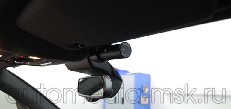 Скрытая установка видеорегистратора на Audi A7