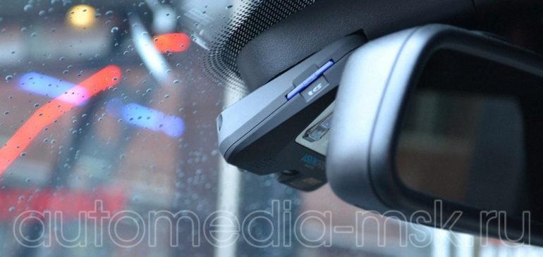 Скрытая установка видеорегистратора на Mercedes E-Class