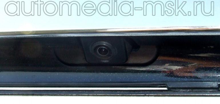 Установка парковочной камеры на Nissan Teana