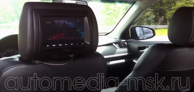 Установка дополнительных мониторов на Toyota Camry