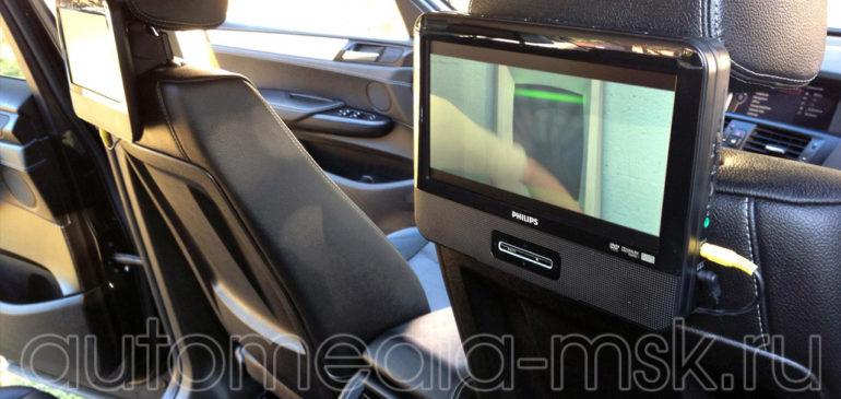 Установка дополнительных мониторов в BMW X3