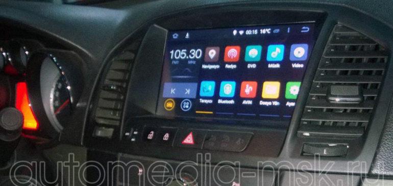 Установка видеоинтерфейса в Opel Insignia