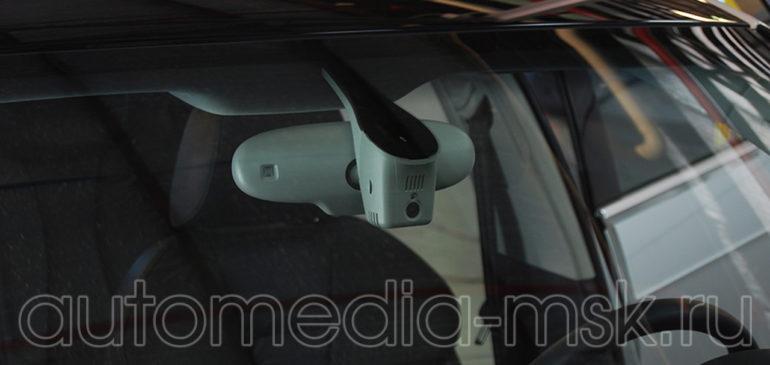Скрытая установка видеорегистратора на Audi A6