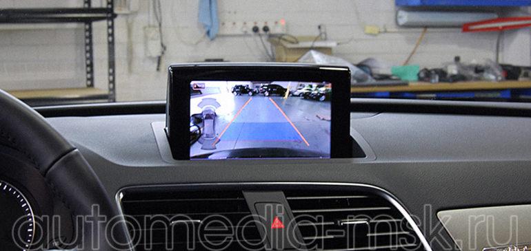 Установка парковочной камеры на Audi Q3