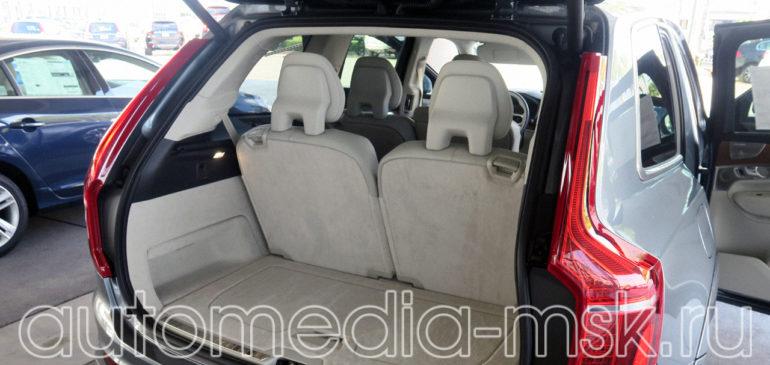 Установка электропривода пятой двери на Volvo XC90