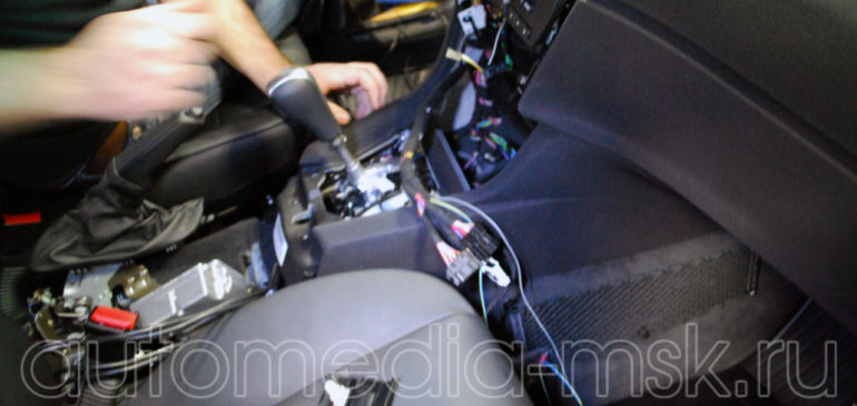 Установка сигнализации на BMW X6