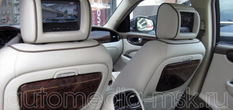 Установка ТВ-тюнера на Jaguar XJ