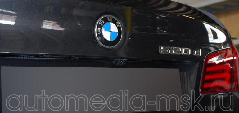Установка парковочной камеры на BMW 5