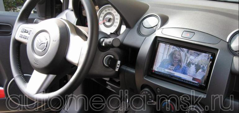 Установка ТВ-тюнера на Mazda 6