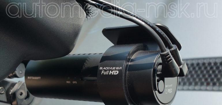 Скрытая установка видеорегистратора на Jeep Cherokee