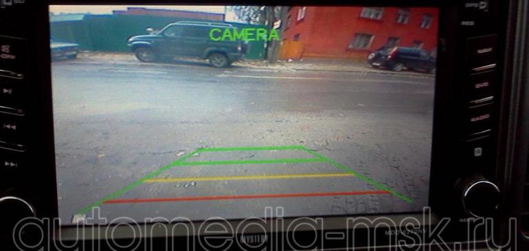 Установка парковочной камеры на Suzuki Grand vitara