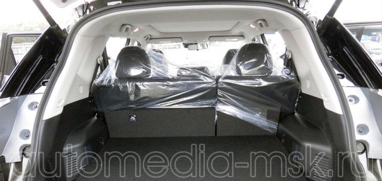Установка электропривода пятой двери на Nissan X-Trail