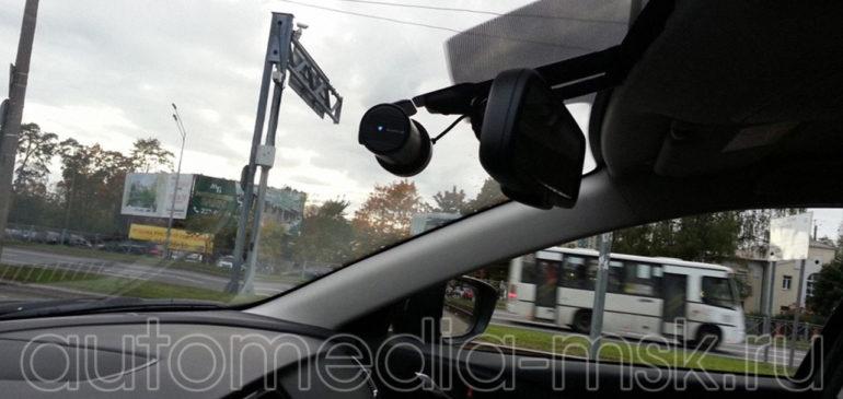 Скрытая установка видеорегистратора на Mazda 6