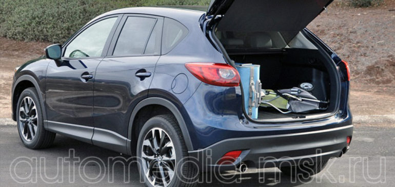 Установка электропривода пятой двери на Mazda CX5