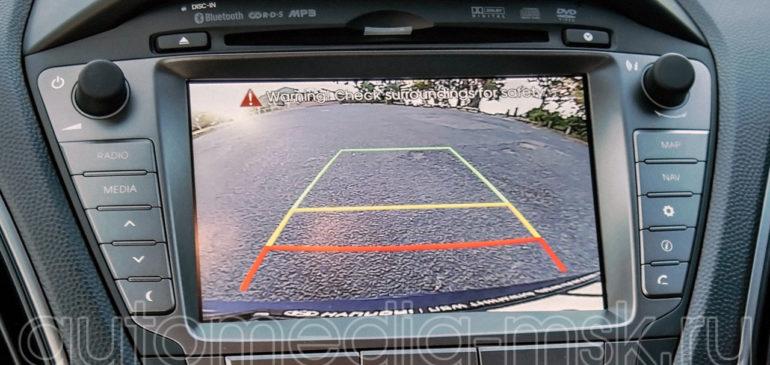 Установка парковочной камеры на Hyundai ix35