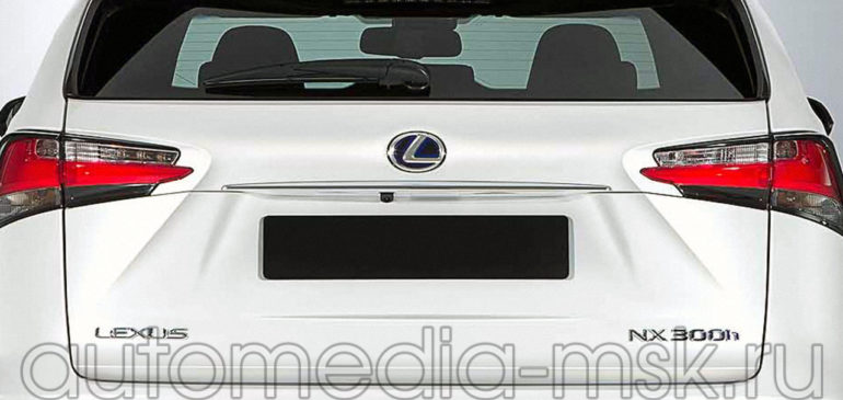 Установка парковочной камеры на Lexus NX