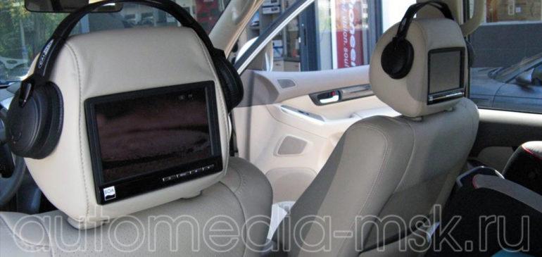 Установка дополнительных мониторов на Toyota Land Cruiser Prado