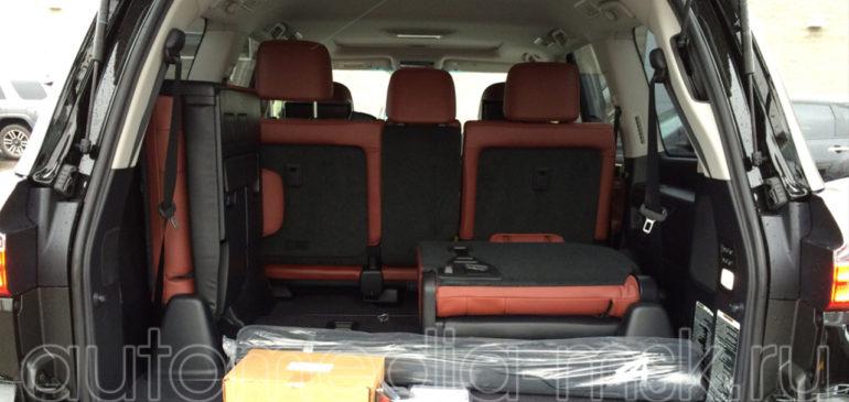 Установка электропривода пятой двери на Lexus LX