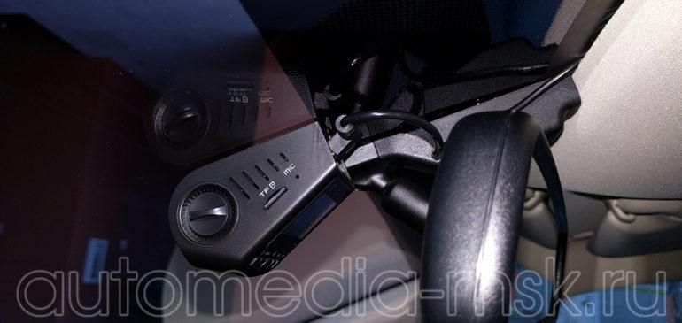 Скрытая установка видеорегистратора на Lexus RX