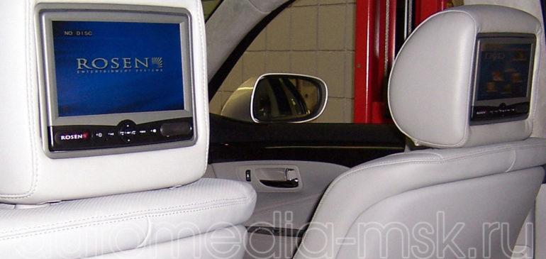 Установка дополнительных мониторов на Lexus LS