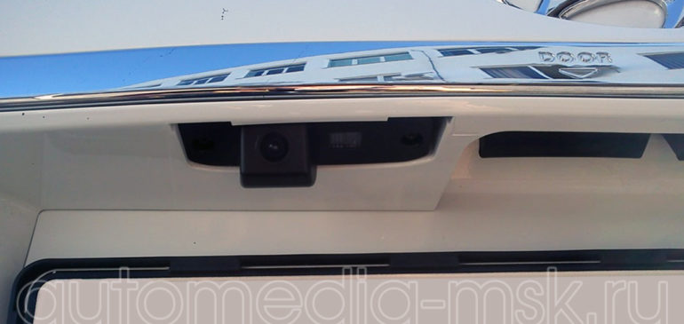 Установка парковочной камеры на Hyundai Tucson