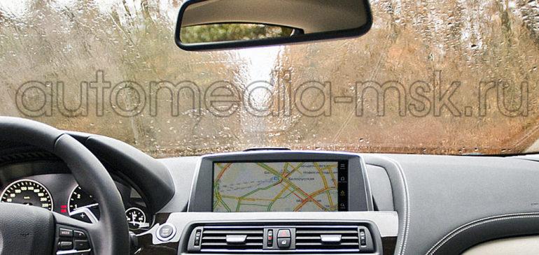 Установка навигации в BMW 6