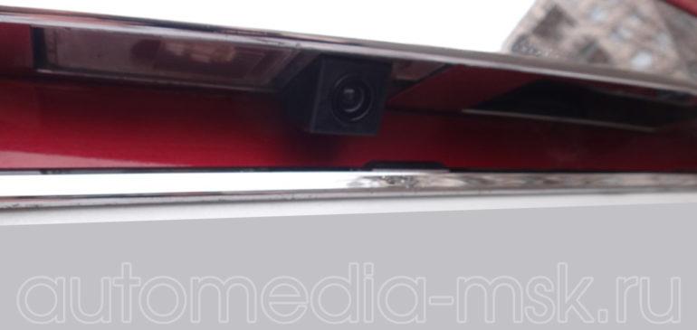 Установка парковочной камеры на Cadillac CTS