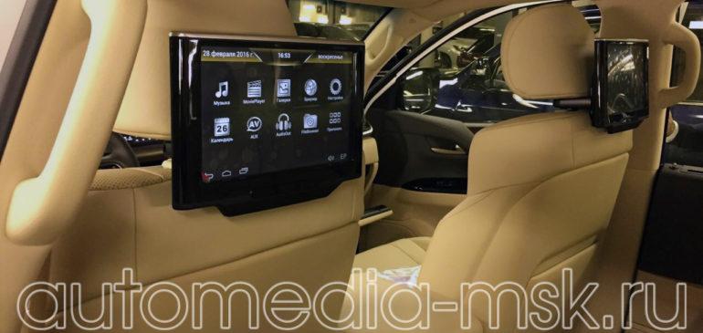 Установка дополнительных мониторов на Lexus LX