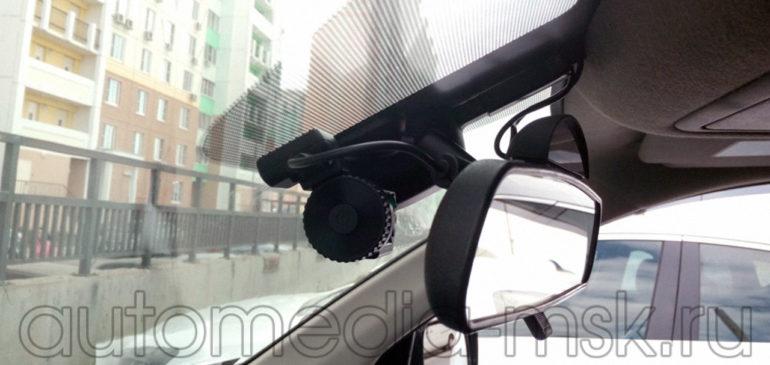 Скрытая установка видеорегистратора на Nissan Pathfinder