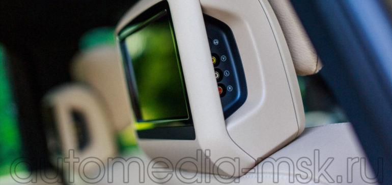 Установка дополнительных мониторов в Mercedes GLE