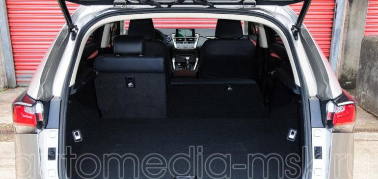 Установка электропривода пятой двери на Lexus NX