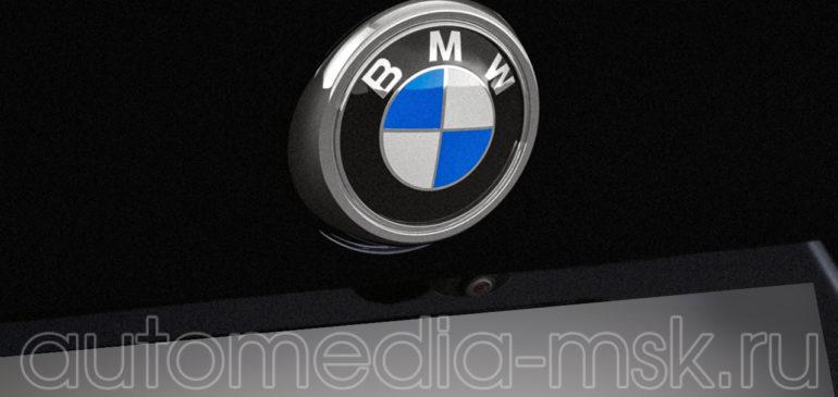Установка парковочной камеры на BMW X4