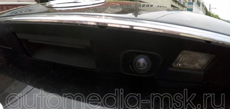 Установка парковочной камеры на Mercedes S-class